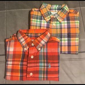 ‼️2 BUNDLE DEAL‼️Ralph Lauren Polo Shirts..12Mos
